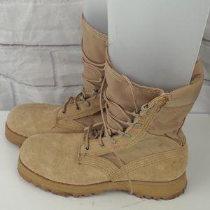 Altama men's sz 5 leather lace up combat boots